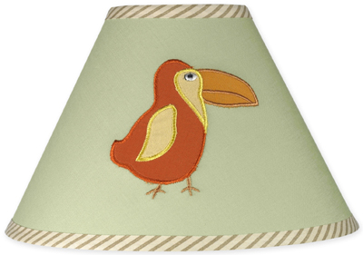 Jungle Adventure Kids Childrens Lamp Shade by Sweet Jojo Designs - Click to enlarge