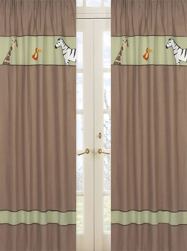 Jungle Adventure Window Treatment Panels - Set of 2 - Click to enlarge