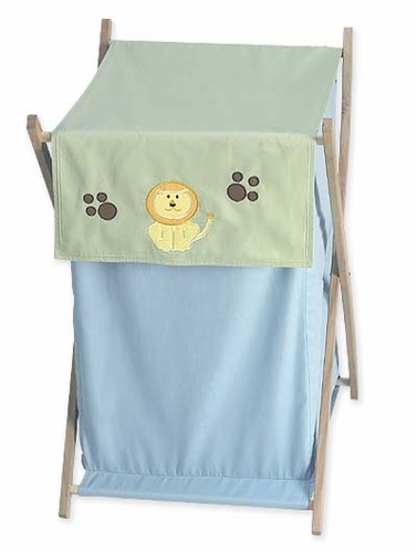 Jungle Safari Baby and Kids Animal Clothes Laundry Hamper - Click to enlarge
