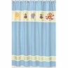 Jungle Safari Kids Bathroom Fabric Bath Shower Curtain