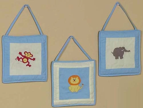 Jungle Safari Wall Hanging Accessories by Sweet Jojo Designs - Click to enlarge