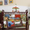 Jungle Time Baby Bedding - 9 pc Crib Set
