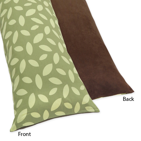 Jungle Time Full Length Double Zippered Body Pillow Case Cover by Sweet Jojo Designs - Click to enlarge