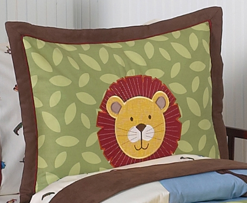 Jungle Time Pillow Sham - Click to enlarge