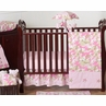Khaki and Pink Camo Baby Bedding - 11pc Crib Set by Sweet Jojo Designs