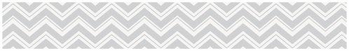 Kids and Baby Modern Wall Paper Border for Pink and Gray Chevron Zig Zag Bedding by Sweet Jojo Designs - Click to enlarge