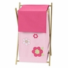 Kids Laundry Hamper for the Pink and Green Flower by Sweet Jojo Designs