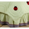 Ladybug Parade Queen Bed Skirt by Sweet Jojo Designs