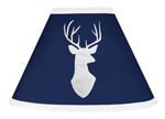 Lamp Shade for Navy, Mint and Grey Woodsy Collection by Sweet Jojo Designs