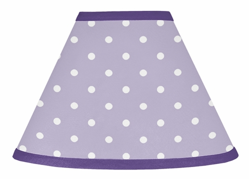 Lavender and Purple Sloane Lamp Shade by Sweet Jojo Designs - Click to enlarge