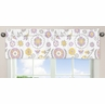 Lavender and White Suzanna�Window Valance by Sweet Jojo Designs