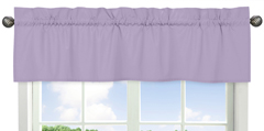 Lavender Purple Window Valance by Sweet Jojo Designs