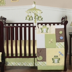 Leap Frog Baby Bedding - 11pc Crib Set