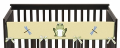 Leap Frog Baby Crib Long Rail Guard Cover by Sweet Jojo Designs