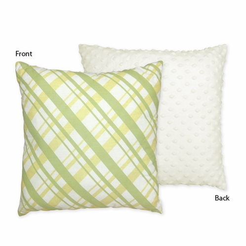 Leap Frog Decorative Accent Throw Pillow by Sweet Jojo Designs - Click to enlarge