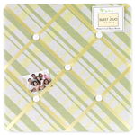 Leap Frog Fabric Memory/Memo Photo Bulletin Board