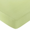 Leap Frog Fitted Crib Sheet for Baby and Toddler Bedding Sets by Sweet Jojo Designs - Light Green