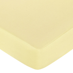 Leap Frog Fitted Crib Sheet for Baby and Toddler Bedding Sets by Sweet Jojo Designs - Solid Yellow