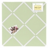 Light Green Fabric Memory/Memo Photo Bulletin Board by Sweet Jojo Designs