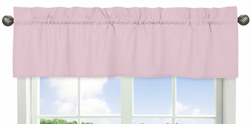 Light Pink Window Valance by Sweet Jojo Designs - Click to enlarge