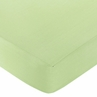 Lime Funky Zebra Fitted Crib Sheet - Lime