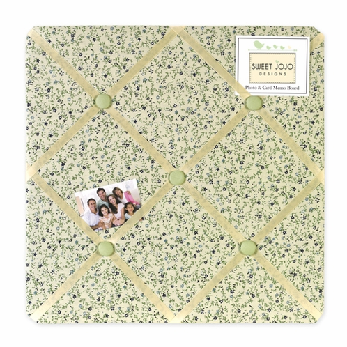 Little Froggy Fabric Memory/Memo Photo Bulletin Board - Click to enlarge