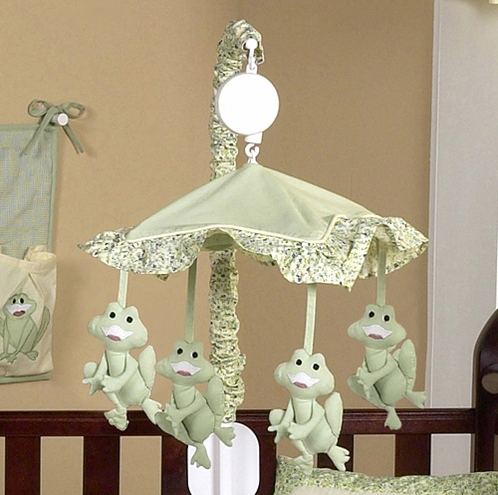 Little Froggy Musical Crib Mobile - Click to enlarge