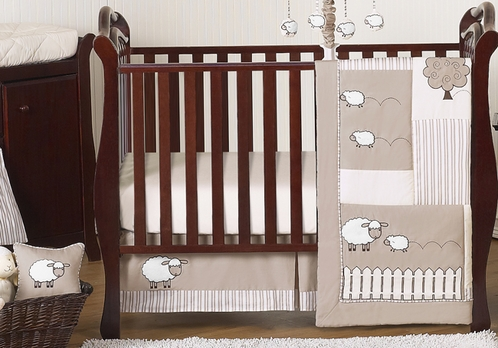 Little Lamb Baby Bedding 11pc Crib Set By Sweet Jojo Designs Click To Enlarge