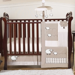 Little Lamb Baby Bedding - 4pc Crib Set by Sweet Jojo Designs