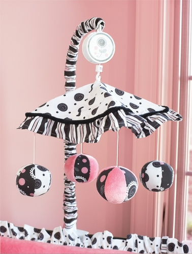 Madison Girl Musical Baby Crib Mobile - Click to enlarge