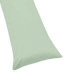 Mint Full Length Double Zippered Body Pillow Case Cover by Sweet Jojo Designs