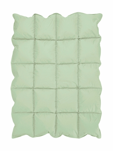 Mint Green Baby Crib Down Alternative Comforter / Blanket - Click to enlarge