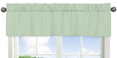 Mint Green Window Valance by Sweet Jojo Designs