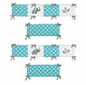Mod Elephant Baby Crib Bumper Pad by Sweet Jojo Designs