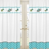 Mod Elephant Window Treatment Panels by Sweet Jojo Designs - Set of 2