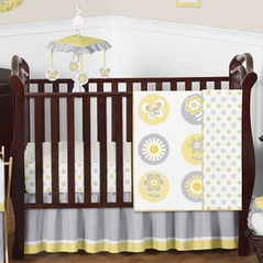 Mod Garden Baby Bedding - 11pc Crib Set by Sweet Jojo Designs
