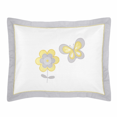Mod Garden Pillow Sham by Sweet Jojo Designs - Click to enlarge