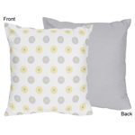 Mod Garden Decorative Accent Throw Pillow by Sweet Jojo Designs