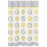 Mod Garden Kids Bathroom Fabric Bath Shower Curtain by Sweet Jojo Designs