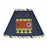 Modern Robot Lamp Shade by Sweet Jojo Designs