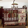 Monkey Baby Bedding - 9pc Boys Crib Set