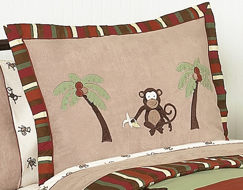 Monkey Pillow Sham - Click to enlarge