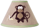 Monkey Lamp Shade by Sweet Jojo Designs