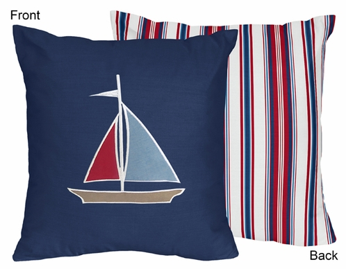 Nautical Nights Decorative Accent Throw Pillow - Click to enlarge