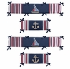 Nautical Nights Collection Crib Bumper by Sweet Jojo Designs