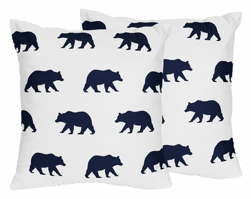 Navy Blue And White Decorative Accent Throw Pillows For Big Bear Beauteous Navy And White Decorative Pillows