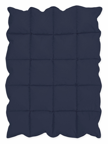 Navy Blue Baby Crib Down Alternative Comforter / Blanket - Click to enlarge