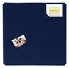 Navy Blue Fabric Memory/Memo Photo Bulletin Board by Sweet Jojo Designs