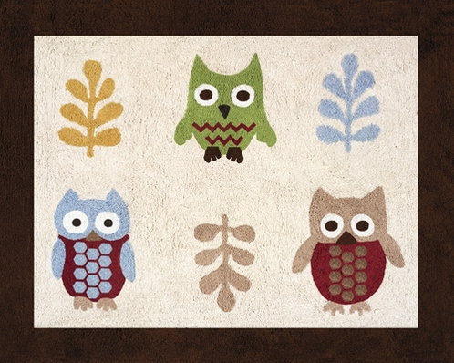 Night Owl Accent Floor Rug - Click to enlarge