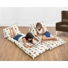 Night Owl Collection Kids Teen Floor Pillow Case Lounger Cushion Cover by Sweet Jojo Designs